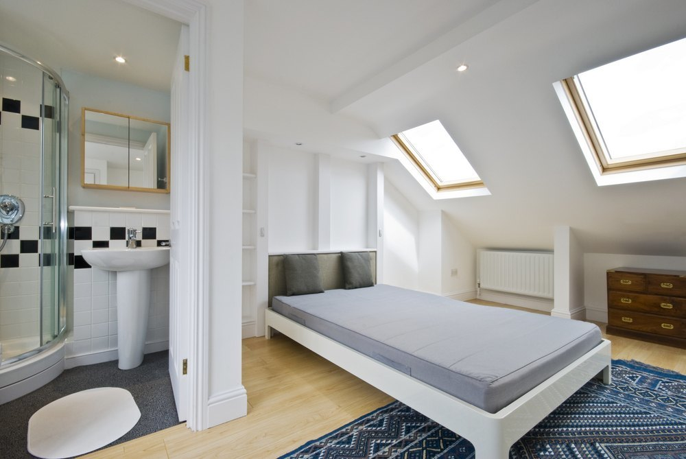 Velux Loft Conversion Internal Image 1 top row of images