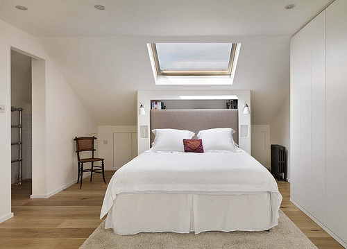 Velux Loft Conversion Internal Image 2 top row of images